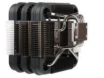 Passivt kyla för element av datorprocessorn royaltyfri bild
