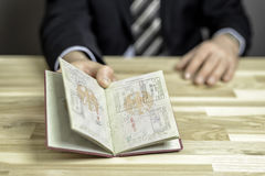 Passkontrolle Lizenzfreie Stockfotografie