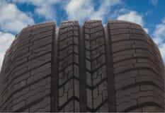 Passo 6 do pneu Imagem de Stock
