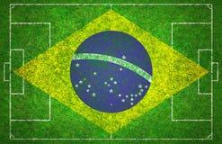 Passo de futebol Foto de Stock