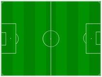 Passo de futebol ilustração stock