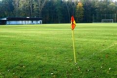 Passo de futebol abandonado Foto de Stock Royalty Free