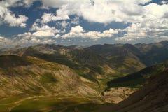 Passo de l?Izoard Francia delle alpi della Provenza Fotografia Stock Libera da Diritti