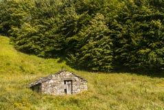 Passo del Cirone (Appennino) - Hut Stock Photos