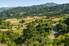 Passo del Cirone (Appennino) - Mountain landscape Stock Photos