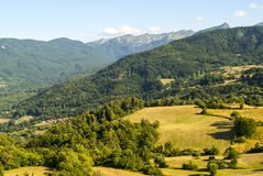 Passo del Cirone (Appennino) - Mountain landscape Stock Photo