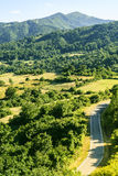 Passo del Cirone (Appennino) - Mountain landscape Royalty Free Stock Photos
