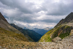 Passo del Muretto Royalty Free Stock Photography