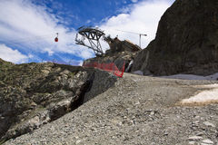 Passo del Tonale Стоковые Фотографии RF