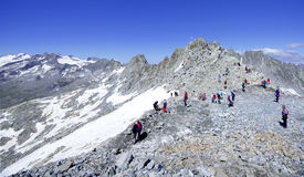 Free PASSO DEL TONALE, LOMBARDY, ITALY - 07/09/2016 -Tourists At Presena Glacier, Lombardy Italy Stock Image - 74906851
