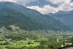 Passo dell'Aprica (Italy) Royalty Free Stock Image