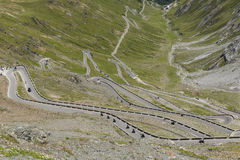 Passo dello Stelvio Stock Photo