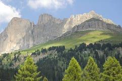 Passo di Costalunga, Dolomites Stock Image