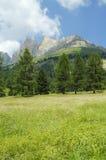 Passo di Costalunga, Dolomites Stock Photos