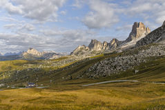 Passo di Giau Royalty Free Stock Images