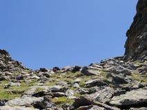 Passo di montagna di Colorado Immagine Stock