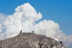 Passo di montagna di Yanmen Fotografia Stock