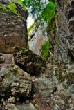 passo di montagna irregolare Fotografie Stock Libere da Diritti