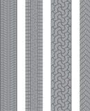 Passo do pneu Imagem de Stock