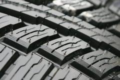 Passo do pneu Foto de Stock Royalty Free