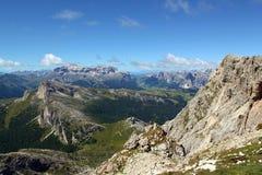 Passo Falzarego, Dolomites Royaltyfri Bild