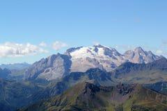 Passo Falzarego, Dolomites Arkivfoton
