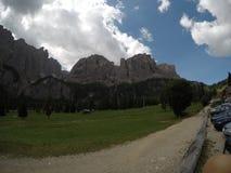 Passo Gardena Стоковые Изображения RF