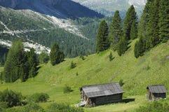 Passo Gardena, Dolomites Royalty Free Stock Image