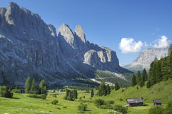 Passo Gardena, Dolomites Royalty Free Stock Photography