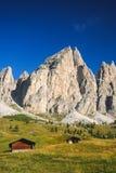 Passo Gardena, Dolomites Stock Images