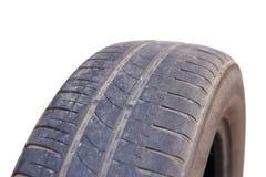 Passo gastado do pneu de carro Foto de Stock Royalty Free