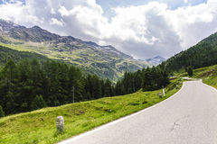 Passo Gavia Royalty Free Stock Images