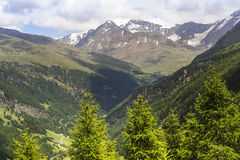Passo Gavia Royalty Free Stock Photo