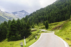 Passo Gavia Stock Photography