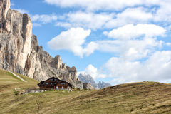 Passo Giau Royalty Free Stock Photo