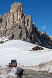 Passo Giau Stock Photography