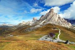 Free Passo Giau And Mout Ra Gusela And Nuvolau Stock Photos - 117737583