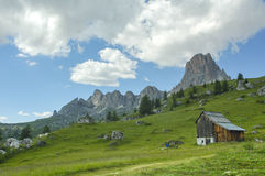 Passo Giau, Dolomites Royalty Free Stock Photography