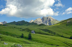 Passo Giau, Dolomites Royalty Free Stock Photo