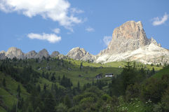 Passo Giau, Dolomites Stock Photography