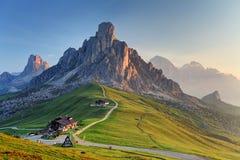 Passo Giau - Dolomites - Italy Stock Photography