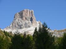 Passo Giau. Dolomites mountains in nord Italy - pass Giau Royalty Free Stock Photography