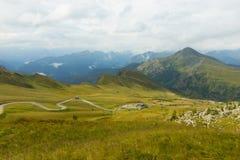 Passo Giau i Dolomites, södra tirol, Italien royaltyfri foto