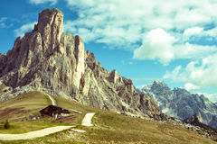 Passo Giau Royalty Free Stock Photography