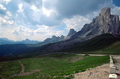 Passo Giau, Italy Royalty Free Stock Photos