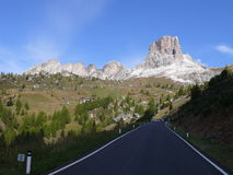 Passo Giau Royalty Free Stock Photos