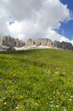 Passo Pordoi, dolomites Photo stock
