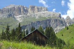 Passo Pordoi, Dolomites Stock Image