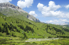 Passo Pordoi, Dolomites Royalty Free Stock Photos