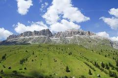Passo Pordoi, Dolomites Royalty Free Stock Images